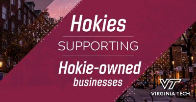 Strengthening the Hokie entrepreneur ecosystem, Virginia Tech has launched a new Hokie-owned business directory.