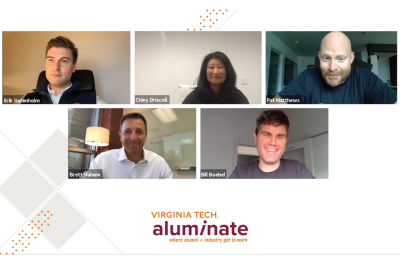 Distinguished alumni panel gave advice to inspiring entrepreneurs during the second web event in the Aluminate Series.