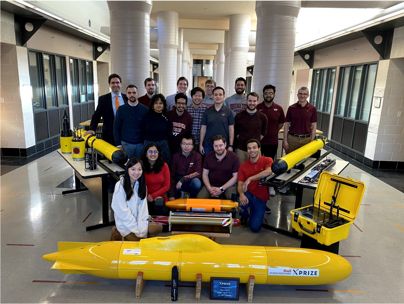 Dive Technologies and Virginia Tech Partner to Launch Novel Autonomous Underwater Vehicle