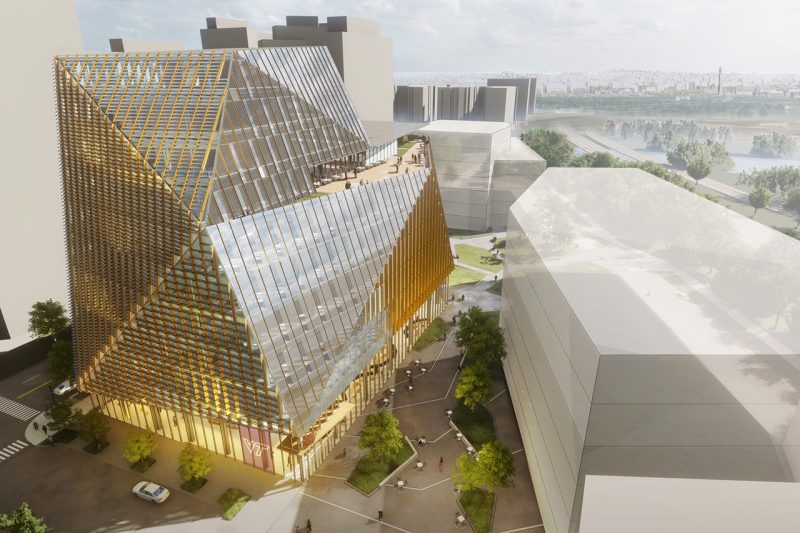 Design Of First Innovation Campus Building Centers On Sustainability And Connectivity Innovation Campus Virginia Tech