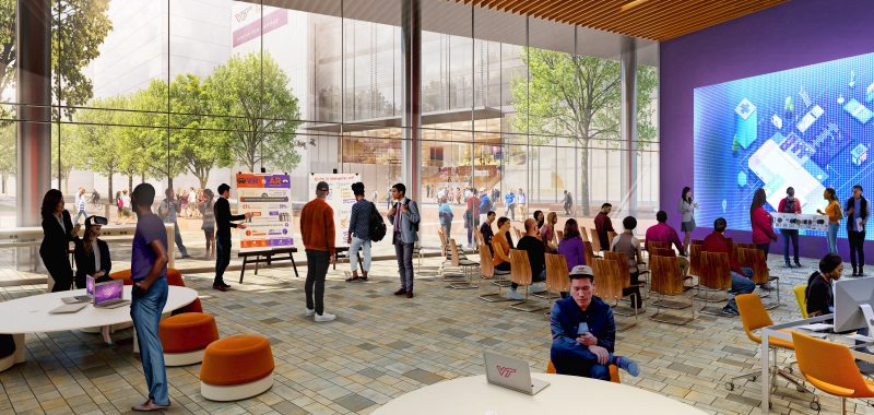 Innovation Campus interior rendering