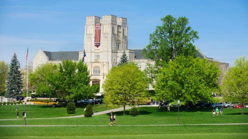 Image result for Burruss Auditorium on VT's campus