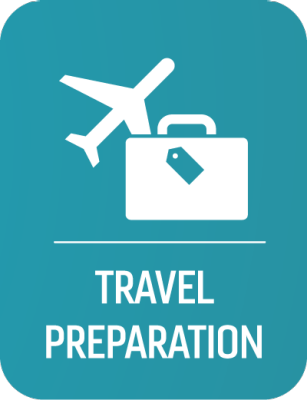 Travel Preparation Button