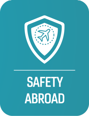 Safety Abroad Button