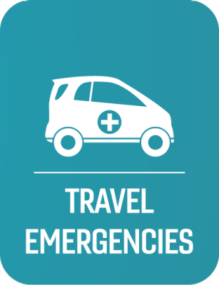 Travel Emergencies Button